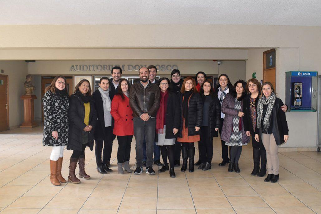 Red Universitaria de Educación Continua se reúne en la Universidad Católica Silva Henríquez